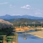 入間川・中橋から望む風景