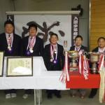 5/10(日) 「第11回全国少年相撲選手権大会」優勝祝賀会がおこなわれました。